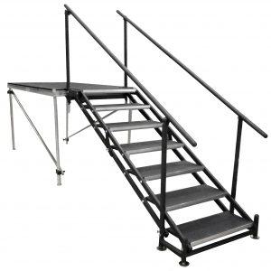 Adjustable 36″-60″ Stair Unit – 7 Steps-0