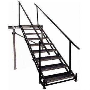 Adjustable 48″-78″ Stair Unit – 9 Steps-0