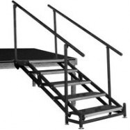 Adjustable 24″ to 48″ stair unit – 6 Steps-0