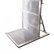 3'3″ Aluminum Barricade-0