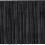 Black Velour Backdrop – 40'x25′-0