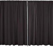 Black Velour Panel – 16'X4′-0
