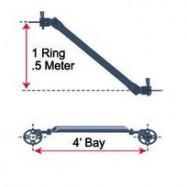 Diagonal 1 Ring x 4′ Bay (.5 Meter)-0