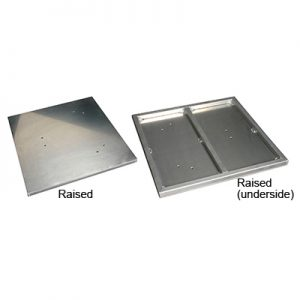 24″x24″ Floorbase – Plate [ Aluminum ]-0