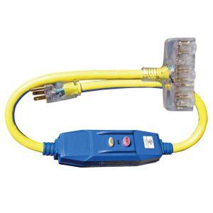 Voltec 20AMP in-Line GFCI adapter-0